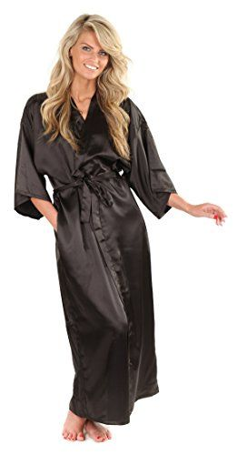 VEAMI Women's Kimono Robe, Long *** Check out the image by visiting the link.
