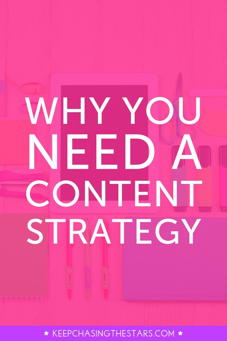 Content is still king! Operating your business without a content strategy is a waste of time. Click through to discover 3 reasons why you need a content strategy.