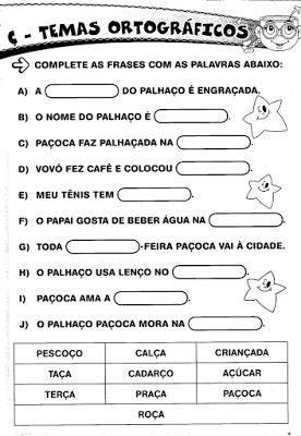 atividades 3º ano portugues - Pesquisa Google
