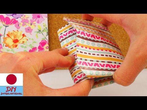 Origami Wallet / 折り紙 財布 折り方 - YouTube