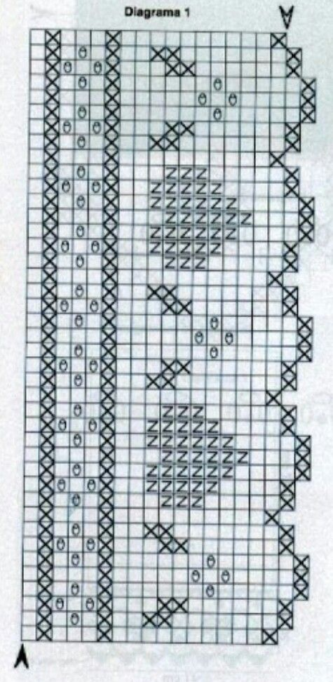 Picasa Web Albums - filet crochet chart