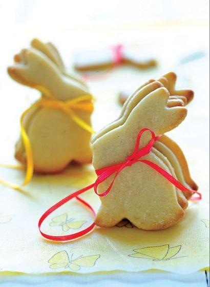 Galletitas de conejo, también para producción de Pascuas de Para Ti