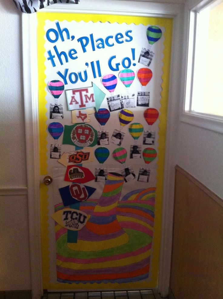 Dr. Seuss door decor