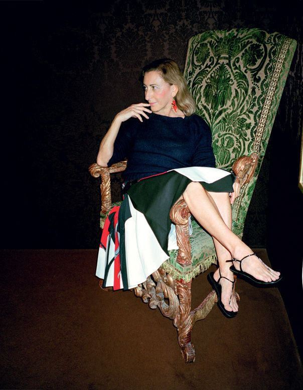 Designer We Love: Miuccia Prada