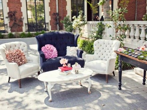 Lounge Furniture Rental Washington Dc | Something Vintage Rentals