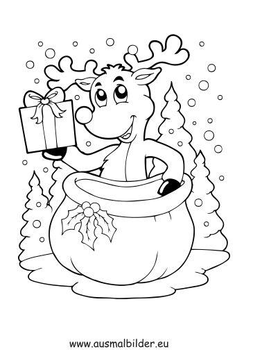 malvorlagen weihnachten pdf – Ausmalbilder für kinder
