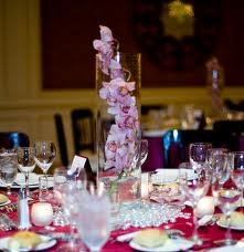 Cymbidium Orchid Centerpieces Wedding M