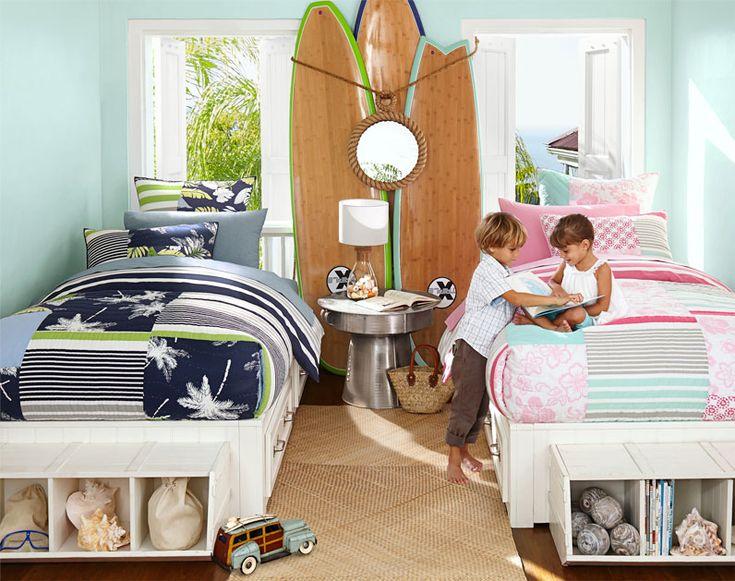40 best Boy\/Girl Shared Room images on Pinterest Children, Girl - boy and girl bedroom ideas