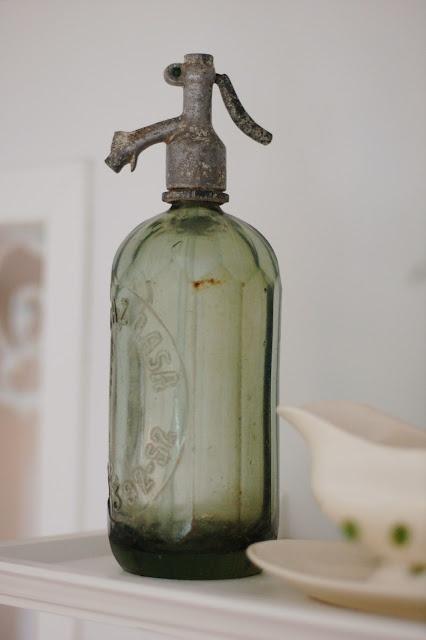 vintage soda siphon