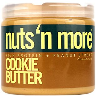 High Protein Cookie Butter Peanut Butter (16 Ounces Cream)  by Nuts N More at the Vitamin Shoppe