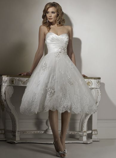 Dropped waist Sleeveless Satin Perfect bridal gown