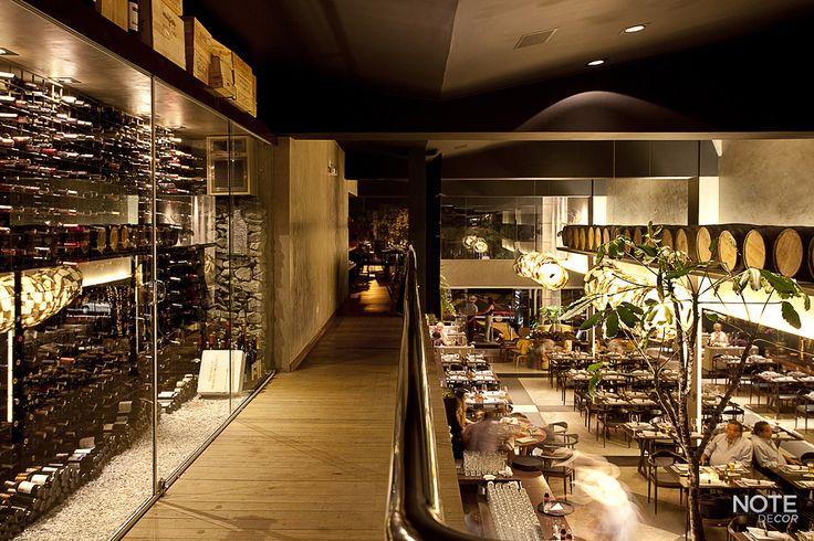 Restaurante Parrilla Urbana, Lourdes - BH  Projeto: Beth Nejm Foto: Henry Yu.