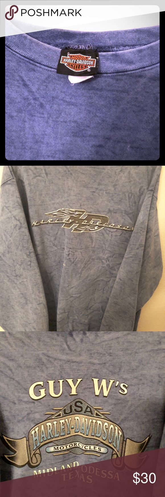 Harley Davidson sweatshirt Man Long sleeve Harley-Davidson Sweaters Crewneck