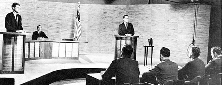 The Kennedy-Nixon debates in the 1960 presidential election