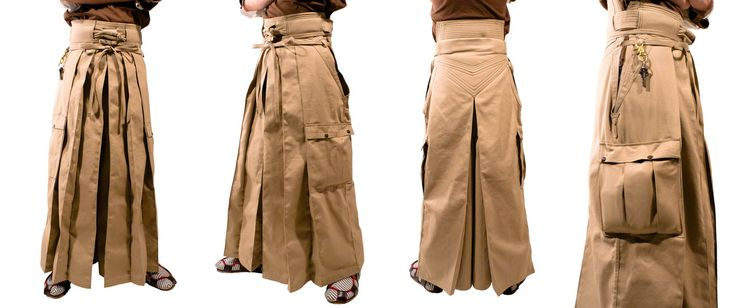 Canvas Hakama by Marcusstratus.deviantart.com on @deviantART