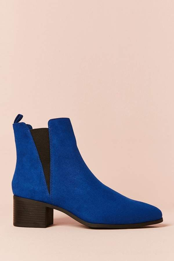 Forever 21 Faux Suede Ankle Boots  b63af274a42