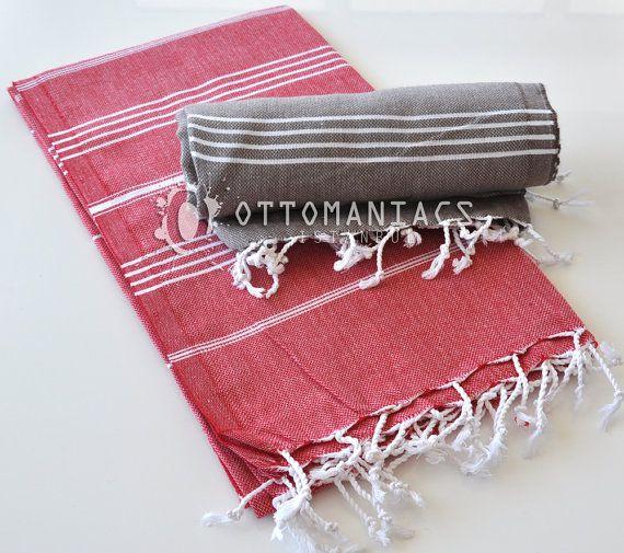 Throw Blanket 2 Pcs Afghan Birthday Gift Beach by Ottomaniacs