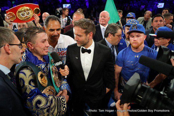 Canelo: I beat Golovkin by 2 points [last September] #GennadyGolovkin #SaulAlvarez #allthebelts #boxing