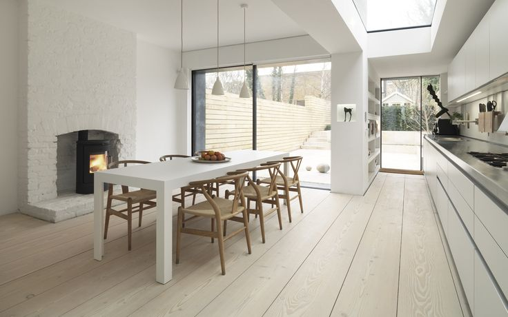 London townhouse / Dinesen flooring / Bulthaup kitchen