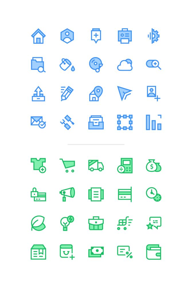Web and E-commerce icons. Inside you will find: Psd, Ai files and vector pattern. Hey! I'm 19 years old Icon designer from Russia. Sometimes I publish a free graphic stuff for everyone. If you wish you can support my next work. Download for free. Or pay as much as you want.