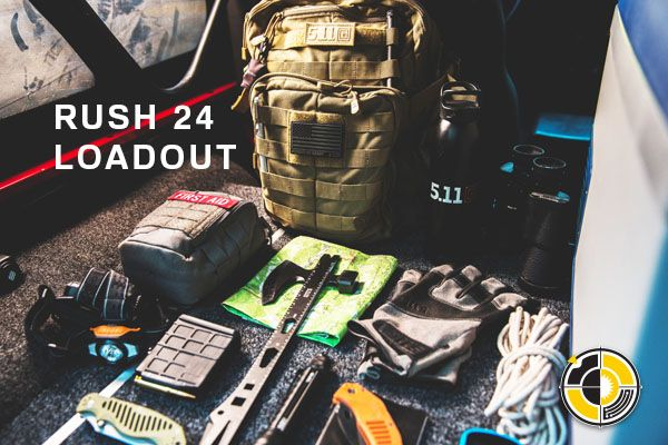Tactical Solutions 5.11 Rush 24 loadout