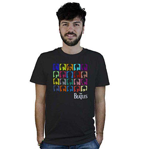 Camiseta Beatles Pop Art, T-Shirt logo de música en el estilo de Andy Warhol #camiseta #realidadaumentada #ideas #regalo
