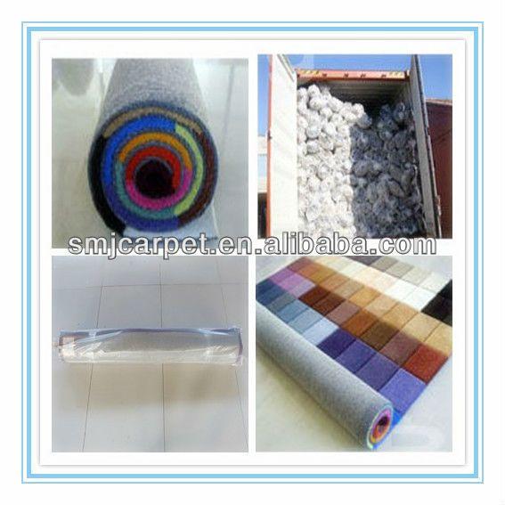 100% silk polypropylene outdoor carpet roll made in china factory