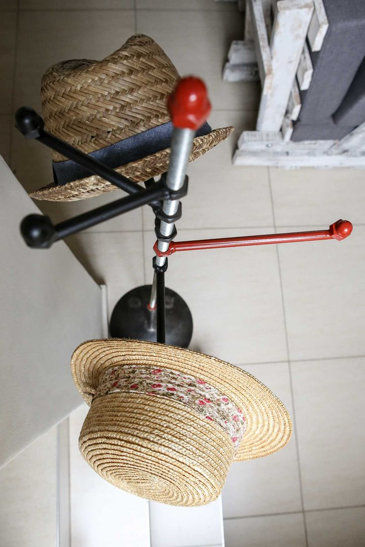 An industrial hat stand by Aard Ateljee