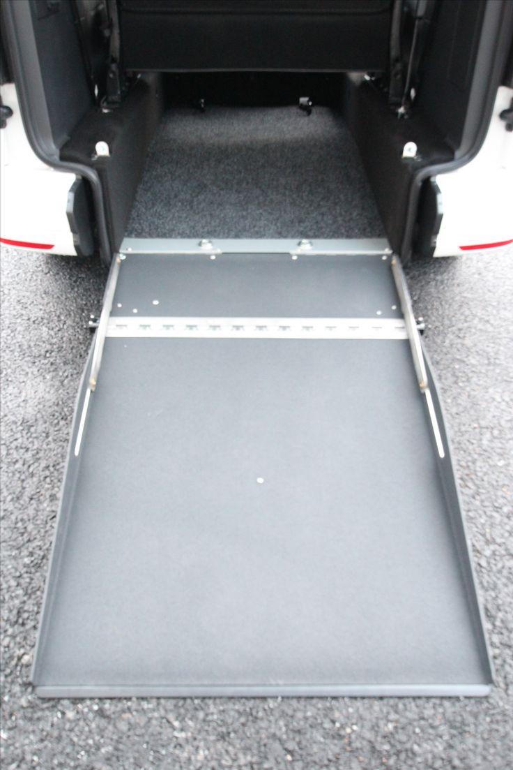 Wheelchair Accessible Volkswagen Caddy Tamlans, Wheelchair Ramp