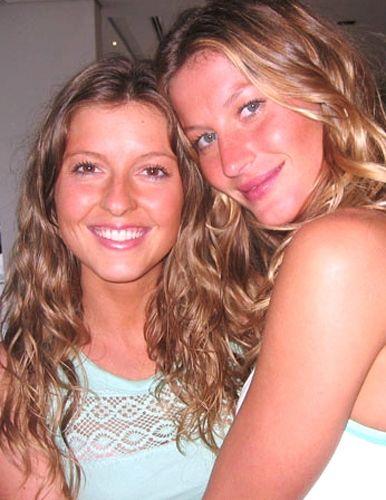 Patricia - older than her sister, model Gisele Bundchen, just for five minutes.