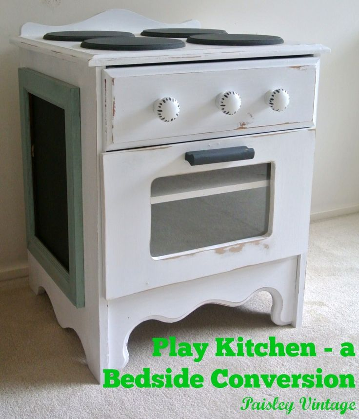 31 best images about play kitchens dyi on pinterest for Play kitchen table