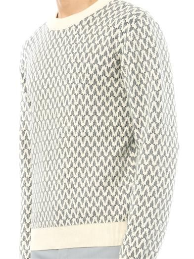 Patrik Ervell Pattern cotton-knit sweater