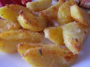 Ochutnávky od Jarky - Něco z Itálie - Patate sabbiose - Pískové brambory
