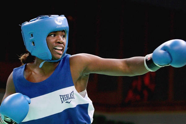 Claressa Shields - Shields, the two-time junior Olympic national champion, was inspired to start boxing after her father talked to her about female boxer Laila Ali.