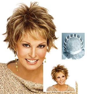 short hair styles for women over 50 gray hair | Raquel Welch Wigs : At Ease - TOP QUALITY WIGS at LOWEST PRICES ...