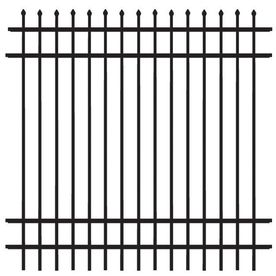 Perfect Decorative Metal Fence Panels Black Aluminum Panel To Ideas