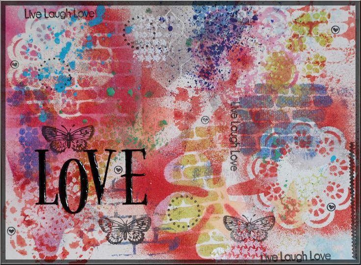 Art+journaling+tavla+på+akvarell+papper.jpg (1600×1177)