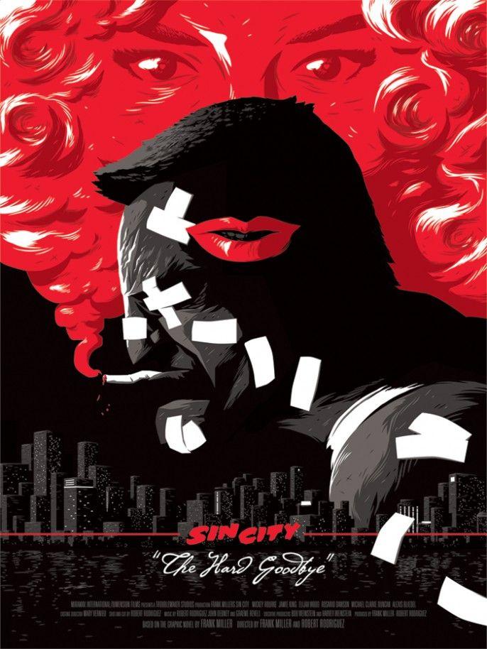Sin City - movie poster - Florey @bobbybigwheels3