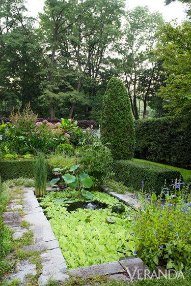 Gardens bunnies and ponds on pinterest for Tranquil garden designs