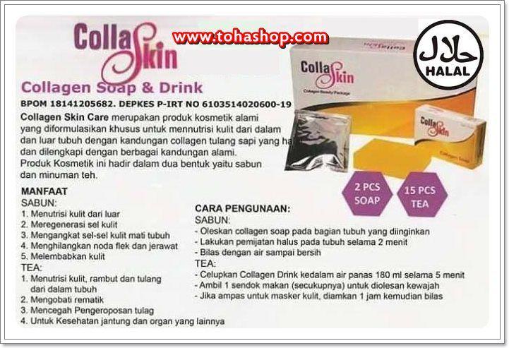 Manfaat CollaSkin Nasa Tea and Soap