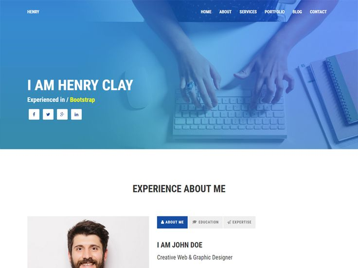 Best Free Html Template Images On   Free Html