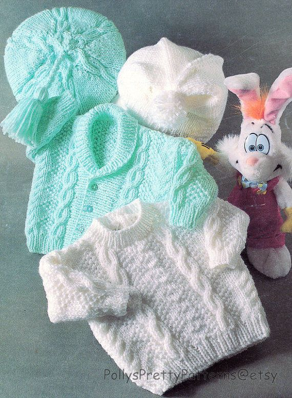 PDF Knitting Pattern for a Aran por PollysPrettyPatterns en Etsy