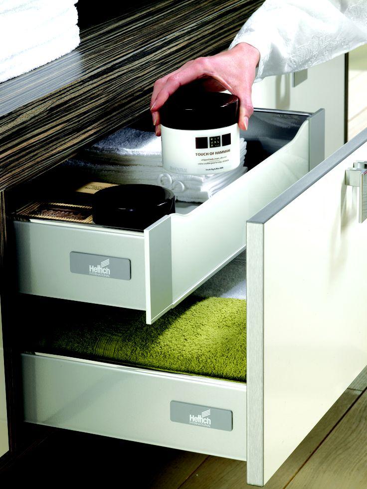 Un concept de tiroir double parois aux possibilit s d Boitier relevant pour double porte de meuble cuisine