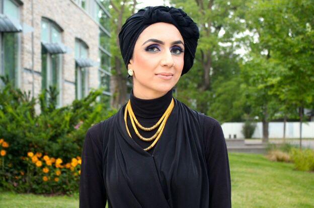 Ahlaam Modest Vogue Ready Wear Headpiece Find Ahlaam Modest Vogue Shop on Etsy.com  https://www.etsy.com/ca/shop/AhlaamModestVogue?ref=s2-header-shopname