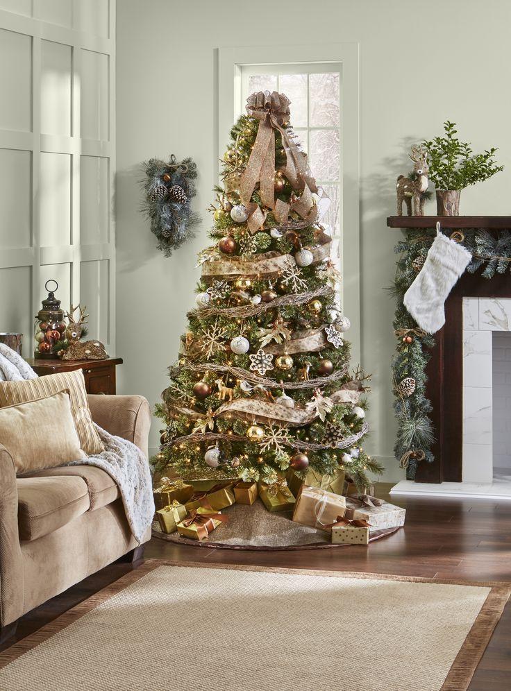 Jaclyn Smith Trim Kit Winter Woodland Multi Christmas Inspiration Christmas Decorations Winter Woodland