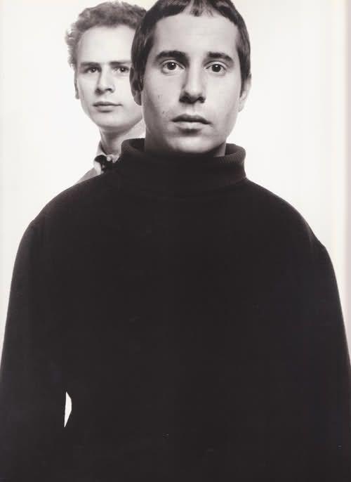Simon and Garfunkel by Avedon