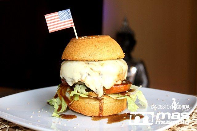 """Panecillo de avena para hamburguesa """"fit"""""""
