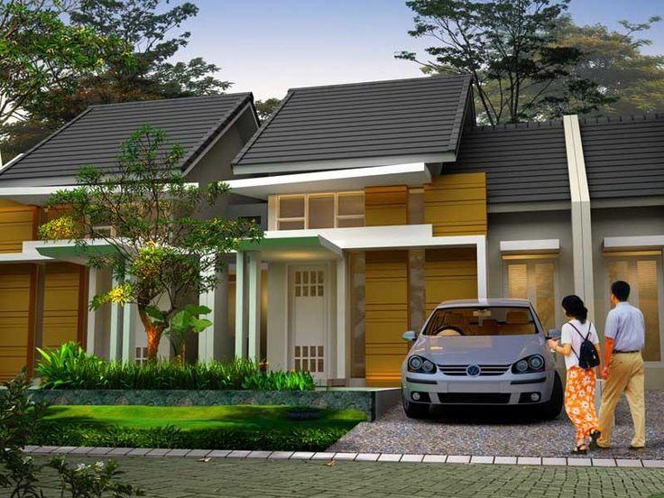 Dekorasi dan Desain Rumah Minimalis Type 45, Dekorasi Desain Rumah Minimalis Type 45 Terbaru Dengan Halaman Depan