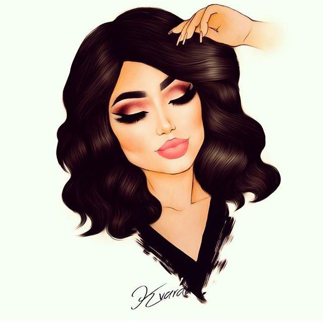 So cute! Artist is @kvardaillustrations ❤️❤️