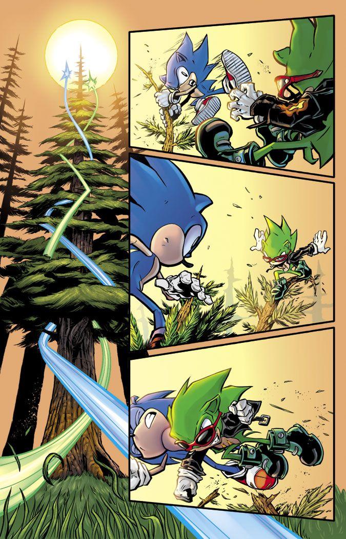 Sonic vs. Scourge